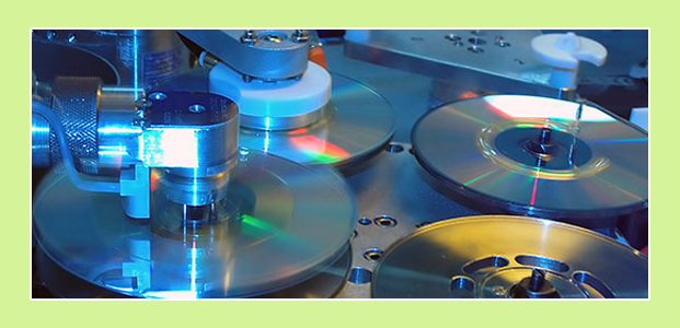 Industrial CD / DVD replication