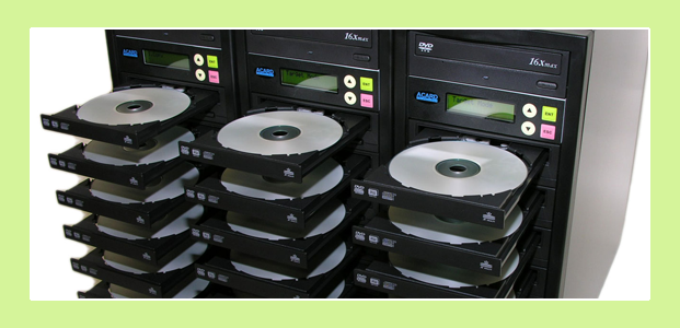 Short-run CD / DVD duplication