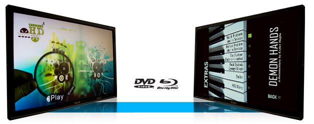 DVD Blu-ray menü tervezés